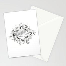 Thoreau Sunflower Stationery Cards