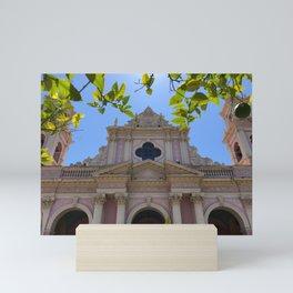 Salta Cathedral, Argentina Mini Art Print