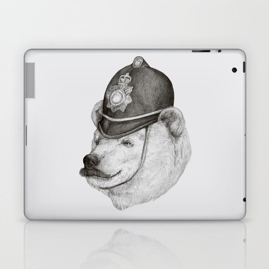 Bearly Legal Laptop & iPad Skin