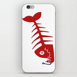 Pirate Bad Fish red- pezcado iPhone Skin