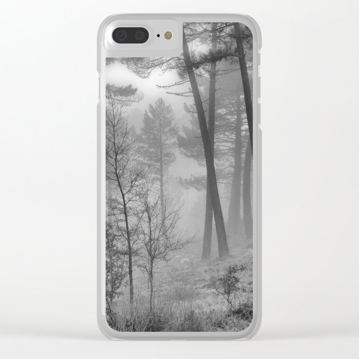 """""""Into The Woods"""" Dream Forest II Clear iPhone Case"""