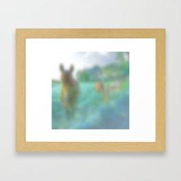 I in particular Am a Very Fine Horse Framed Art Print