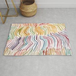 Coloured Strippes Rug