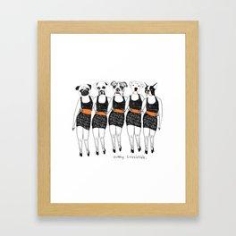 Simply Irresistible  Framed Art Print