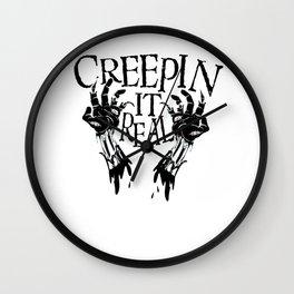 Halloween Zombie Dead Undead Creepy Sexy Costume Wall Clock