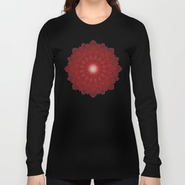 Ornamental round flower decorative element Long Sleeve T-shirt