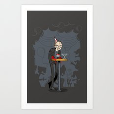 Richter at the Party Art Print