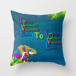 Live2Love Kip Throw Pillow