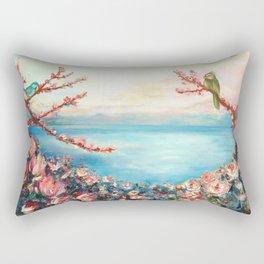 Magnolias - Geneva-Leman lake swiss Rectangular Pillow
