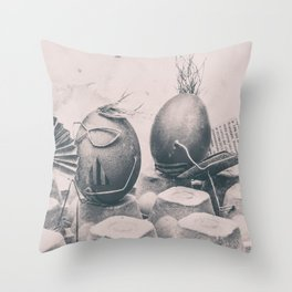 Summer on the beatch Throw Pillow