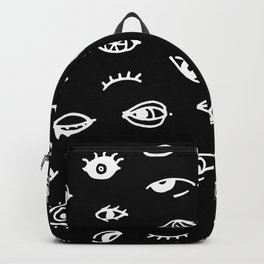 Bad Eyes (Black) Backpack