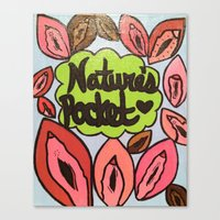 broad city Canvas Prints featuring Broad City Nature's Pocket Print by Southern Woman's Bookstore