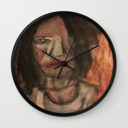 The Hungry Eyes Wall Clock