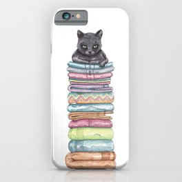 The Throne of the Cat iPhone Case