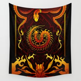 Scolopendra Wall Tapestry
