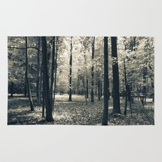 Light in the Forest Rug