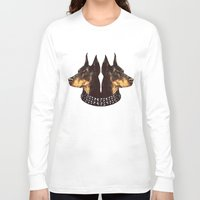 givenchy Long Sleeve T-shirts featuring 2 Dogs Givenchy by cvrcak