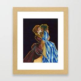 Charles Frederick Worth Kiss Framed Art Print