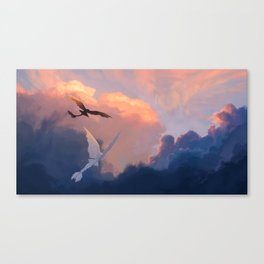 Let the Wind Carry Us Canvas Print
