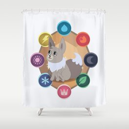 Evolution Possibilities  Shower Curtain