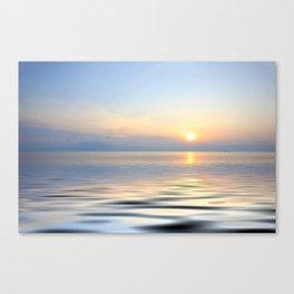 Zakynthos island at sunrise Canvas Print