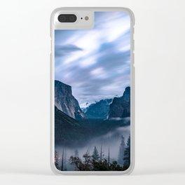 Fog Descends On Yosemite Clear iPhone Case