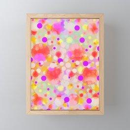 Confettis Party Framed Mini Art Print