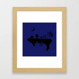 Floating World Framed Art Print