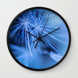 Dandelion fluff Wall Clock
