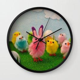Hoppy Easter! Wall Clock