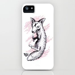Graphic Fox iPhone Case