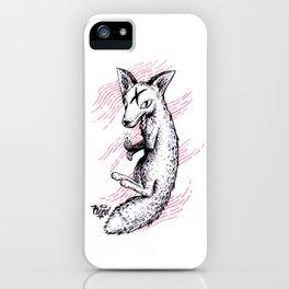 Graphic Fox iPhone Case