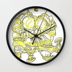 Space Fuckin' Wall Clock