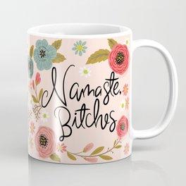 Pretty Sweary- Namaste Bitches Kaffeebecher
