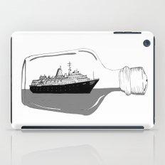 ship in a bottle iPad Case