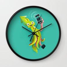 SQUID RINGS Wall Clock