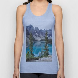 Moraine Lake Unisex Tank Top