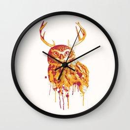 Owlope Stripped Wall Clock