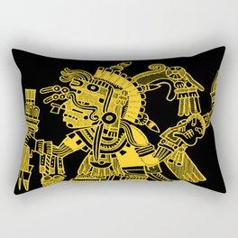 Ancient Mexican Design 2 Rectangular Pillow
