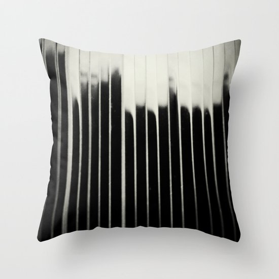 STEEL & MILK Throw Pillow