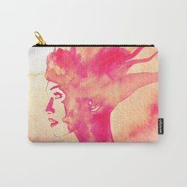 Firestorm Woman Carry-All Pouch