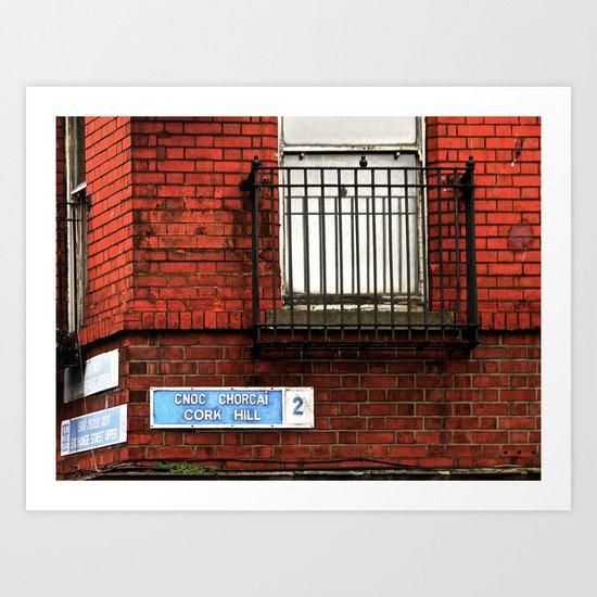 Exchange St. & Cork Hill Art Print
