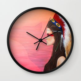 Always Looking Forward Wall Clock