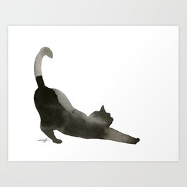 I Love Cats No.1 by Kathy Morton Stanion Art Print