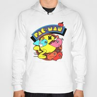 pac man Hoodies featuring Pac-Man by idaspark