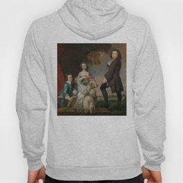 """Sir Joshua Reynolds """"Thomas and Martha Neate with His Tutor, Thomas Needham"""" Hoody"""