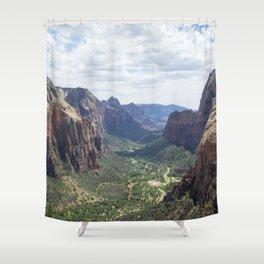 Zion National Park Shower Curtain
