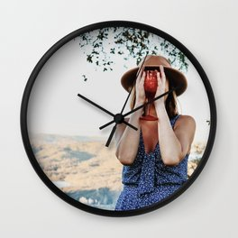 Nothing to Wine About Wall Clock