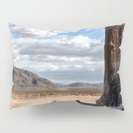 Giant Rock at Joshua Tree Pillow Sham