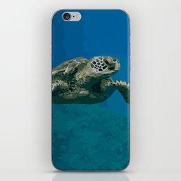 Sea Turtle Ocean blue Water iPhone Skin